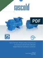 Catálogo Geral Frascold de Compressores Semi-herméticos (v. 60Hz)