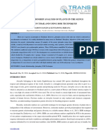 1. IJBTR - Genetic Relationship Analysis of Plants in the Genus