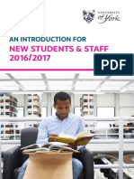An introduction to the Library for new students and staff (#UoYTips)