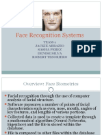 Face recoganization report