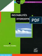 F.charru, Instabilités Hydrodynamiques