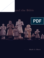 (Biblical Interpretation Series Volume 19) Mark G. Brett-Ethnicity and the Bible-Brill Academic Publishers (2002)