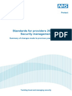 Security Management Mapping Document for 2015-2016