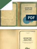 Geometrie Analitica - Manual Pentru Clasa a XI-A - Gh. D. Simionescu