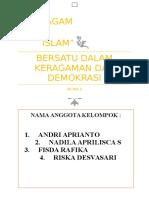 BERSATU DALAM KERAGAMAN DAN DEMOKRASI.docx