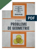 Probleme de Geometrie - G. Titeica