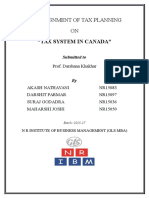 Tax structure of Canada by Ak