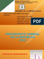Diapositivas de Presupuesto 2015
