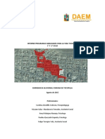 Informe Emergencia Agosto 2015