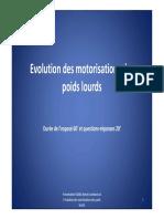 Motorisation Poids Lourds 2013