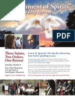 Discernment of Spirits Retreat Flyer