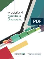 Módulo 4- Modalidades de Contratación.