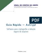 Guia Rapido Para Uso Do AxCrypt