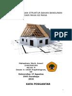 struktur bahan bangunan