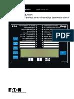 Eaton - Mod. FD120 - Manual de Operación y Mantenimiento