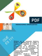 Paradigm as Emergent Es