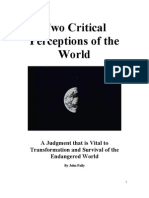 Two Critical Perceptions of the World