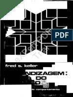 Keller, F. S. (1973). Aprendizagem - Teoria Do Reforço