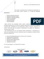 Carta Presentacion Narayola