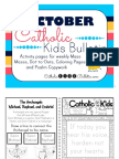 October 2016 Catholic Kids Bulletin