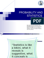 Intro to Probability and Statistics