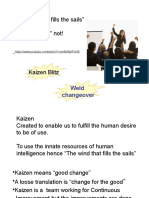 Practical Kaizen Training Sara Lee and OPW