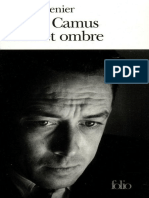 Grenier, Roger - Albert Camus. Soleil Et Ombre