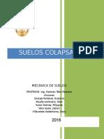 SUELOS COLAPSABLES