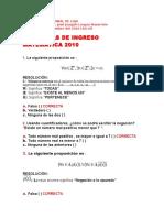 Matematicas Universidad Nacional de Loja