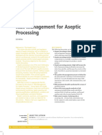 Risk Management for Aseptic Processing