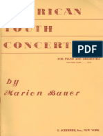 Bauer American Youth Concerto Two-Piano Score