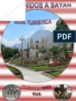 Guia Turistica - Sayan -10pag