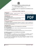 REGULADOR DE BAIXA PRESSÃO PARA GÁS LIQUEFEITO DE PETRÓLEO (GLP) COM CAPACIDADE ATÉ 4 kg/h