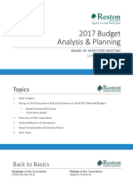 2017 Budget Assessment Presentation
