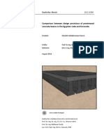 Bachelor Thesis prestressed concrete