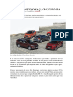 Car and Drive - Novo Sportage Encara q3, Cr-V, Ix35 e Gla