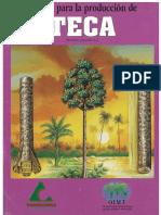 Manual de Produccion de Teca