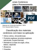 3-Materiais Cerâmicos - Processamento.pptx