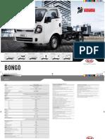 Folheto Kia Bongo K2500