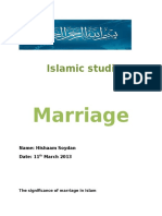 The significance of marriage in Islam.docx