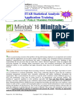 MINITAB Software Application Training Couse Outline 3Days