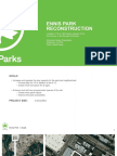 NYC Parks Department Ennis Playground Renovation Plan