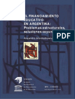 El financiamiento educativo en Argentina