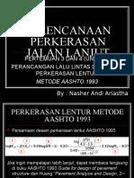 3. Nilai ESAL dan tebal lentur AASHTO 93.ppt