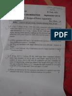 7th Sem Midsem Question Papers-2014
