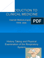 History and Physical Examination RS