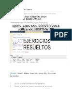 Ejercicios en SQL Server 2014