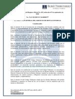 RO# 835 - 2S - Procedimiento Para Devolución de Valores Exonerados Del RISE Pagadas Desde Abril a Diciembre de 2016 (7 Sept. 2016)