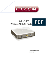 Wl 612 Wireless Adsl2 Routerfull Manual