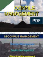 Stockpile Management